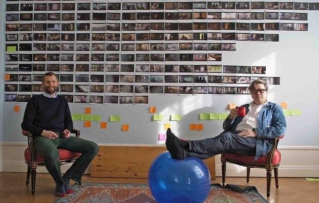 Dino Jonsäter samtalar om filmberättande med Tomas Alfredson